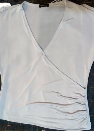 Стильная и нежная легкая блузка футболка florence&fred цвет ме...