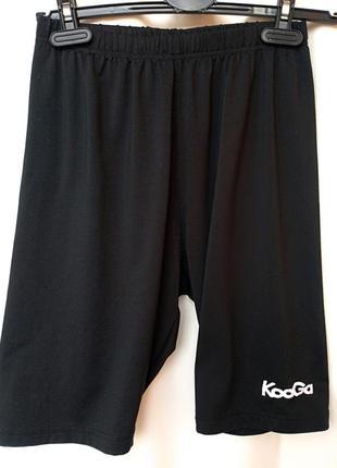 Спортивные шорты kooga на резинке_спортивні зручні шорти