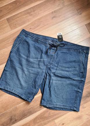 Livergy шорты джинсовые мужские батал стрейч 68 р большого раз...