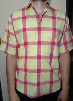 Тенниска, рубашка мужская с коротким рукавом viyella (m 39-41)...