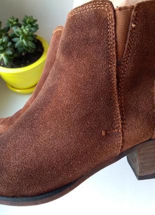 Рыжие полусапоги ботильоны ботинки – 38 р. демисезон novocento