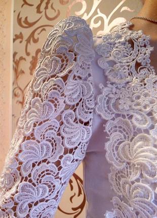 Нежное, женственное платье из итальянского кружева (свадебное ...
