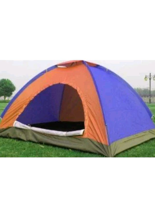 Палатка С Автоматическим Каркасом Цветная 2-х Местная Палатка Для