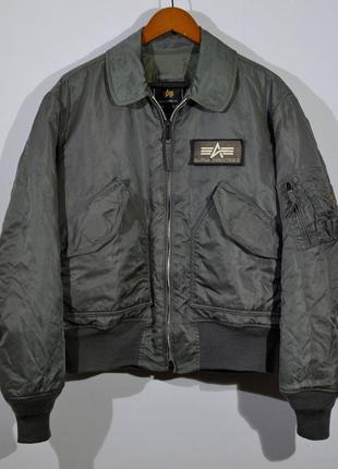Куртка alpha industries bonber jacket