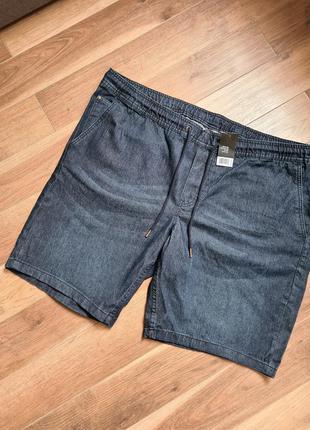 Livergy шорты джинсовые мужские батал стрейч 66 р.