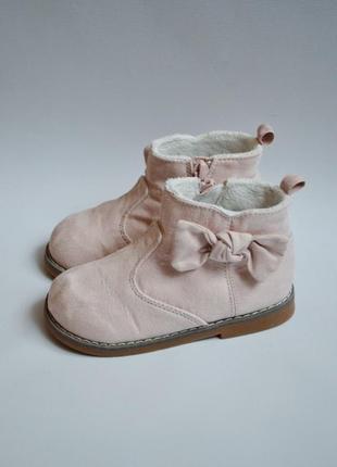 Офигенные сапоги ботинки h&m 15.5cm