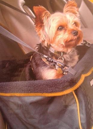 Бустер/автокресло/автоперевозка для собак/переноска/Dog for dog