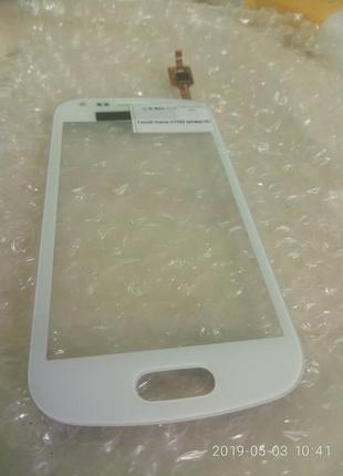 Тачскрин сенсор Samsung S7562 белый