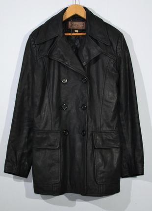 Кожанка naf naf leather jacket