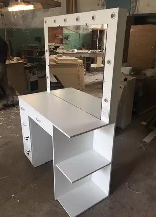 Стол для визажа ,стол с зеркалом и подсветкой