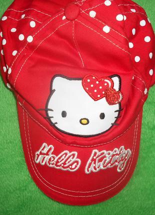Детская бейсболка hello kitty