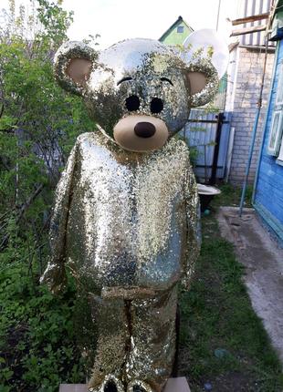 Ростовая кукла Золотой Тедди