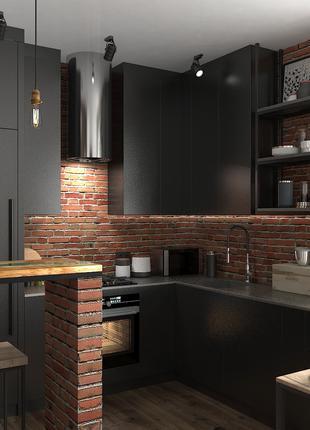 Разработаю концепцию дизайна  интерьера Вашего дома, квартиры.