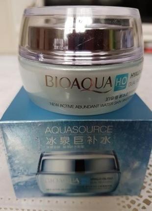 Увлажняющий крем для лица bioaqua с олигомером гиалуроновой ки...