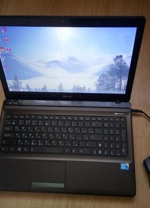 Ноутбук Asus Intel Core i3 2.4 Ггц процессор асус компьютер