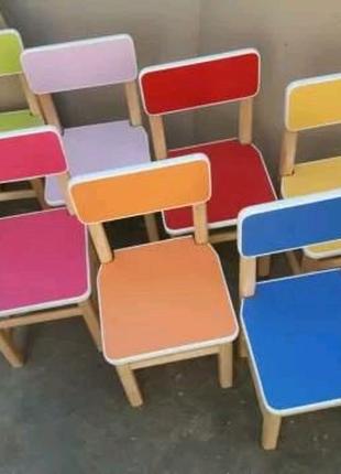 Стул. Детский столик и стульчик. Стул. Мебель для детского садика