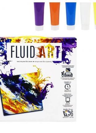 "Набор креативного творчества ""Fluid ART"", набор для творчества..."