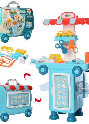 Игровой набор доктор чемодан-машина, детский набор доктора, на...