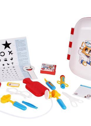 Игровой набор Доктора 4753TXK в чемодане, детский набор доктор...