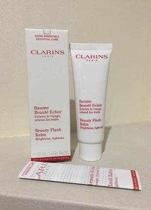 Бальзам моментального действия clarins beauty flash balm