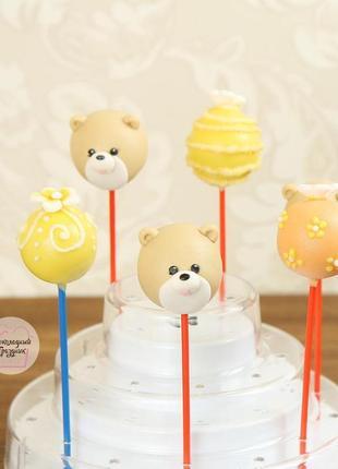 Изготавливаем кейк-попсы на свадьбу