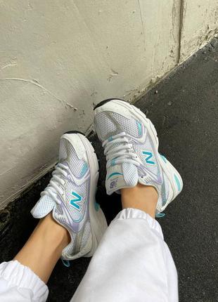 Топовые кроссовки деми женские нью беланс new balance 530 purp...