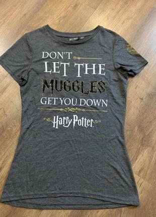 Красивая футболка серии гарри поттера