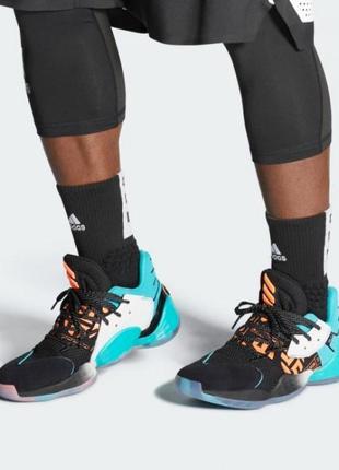 Кроссовки adidas harden vol streetball (44.5р по 46.5р) оригинал