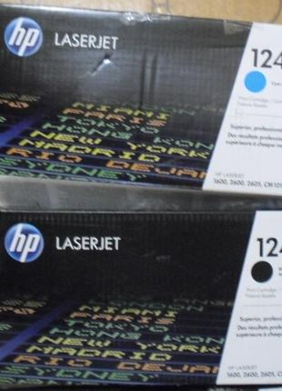 Картриджи HP 124A - Q6000A, Q6001A, Q6002A, Q6003A