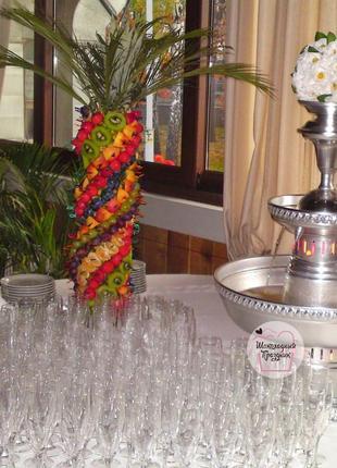 Фонтан для шампанского в Киеве