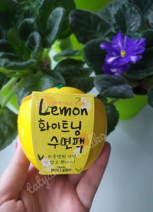 Ночная осветляющая маска baviphat urban dollkiss lemon vitamin...