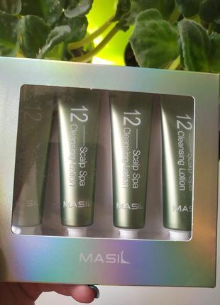 Masil 12 scalp spa cleansing lotion очищающий лосьон для кожи ...