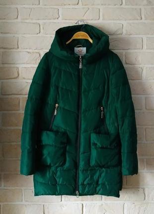 Теплая, зимняя куртка,парка, пуховик
