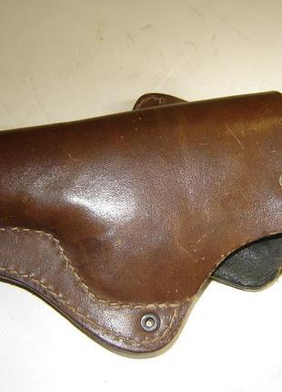 Кобура из толстой натуральной кожи для револьвера типа МЕ-38