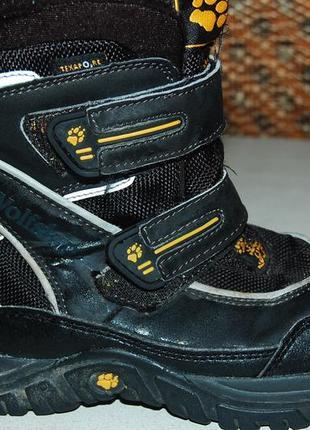 Jack wolfskin зимние ботинки 29 размер