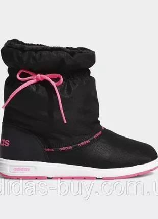 Сапоги дутики женские adidas оригинал тёплые зимние 36.5 37 38