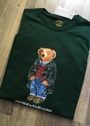 Ralph lauren polo bear мужская футболка.оригинал.