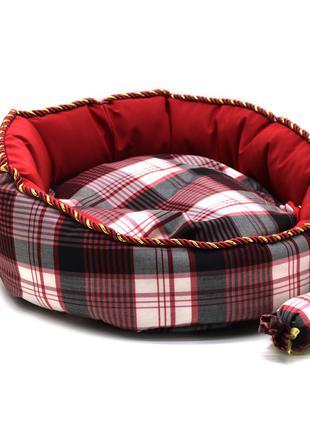 Лежак для котов и собак Люкс