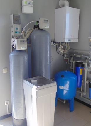 Установка, замена и обслуживание фильтров для воды