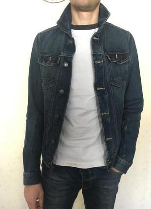 Джинсовая куртка мужская tom tailor