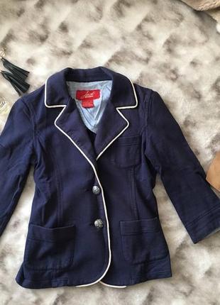 Распродажа! вторая вещь -40%! пиджак темно-синий jack bb dakot...