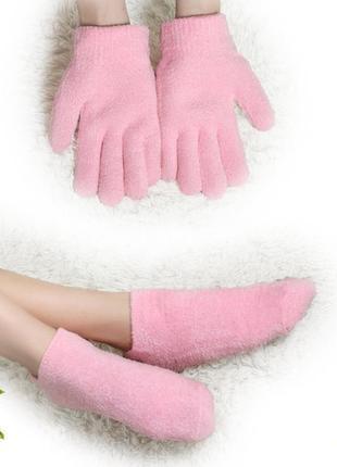 Увлажняющие гелевые spa-носочки новый год подарок