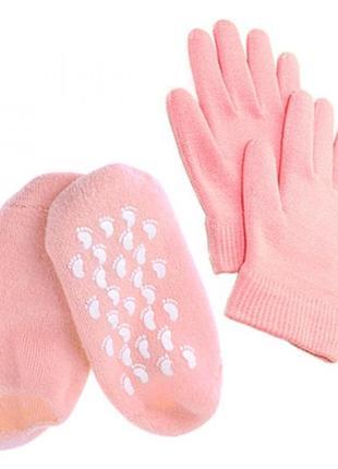 Увлажняющие гелевые spa-перчатки новый год подарок