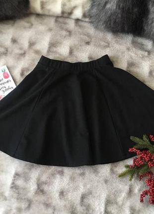 Юбка черная клеш fb sister новый год нарядная