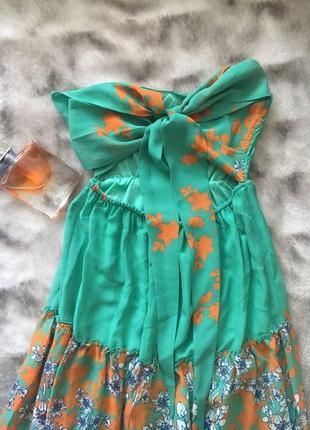 Sale роскошный сарафан платье макси polo garage