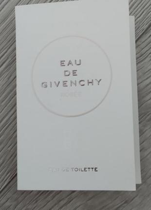 Givenchy eau de givenchy rosee туалетная вода для женщин 1мл