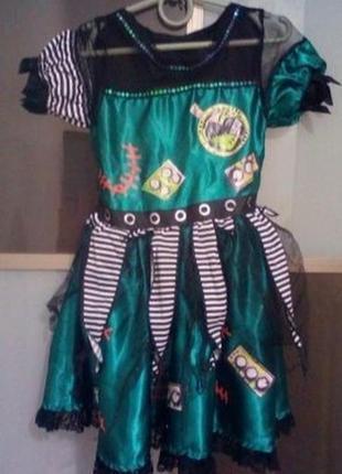 Карнавальный костюм пиратка,на хэллоуин на 5-6 лет