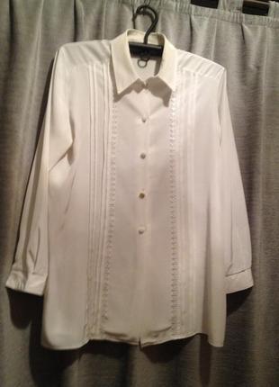 Нарядная белая блузочка.049