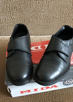 Туфли mida натуральна кожа р. 34