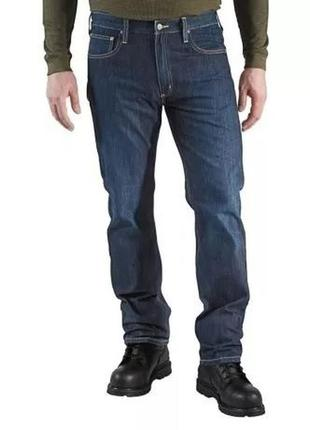 Джинсы мужские carhartt b315 straight-fit denim jeans оригинал...
